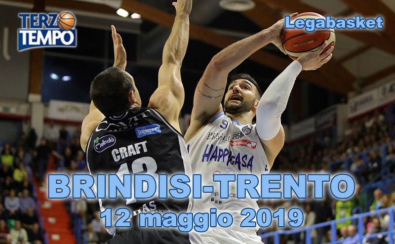 Lega A PosteMobile 15^ ultima RS 2018-19: Trento rende pan per focaccia a Brindisi rivediamo come su Terzo Tempo
