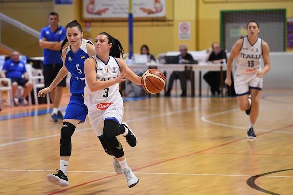 Italbasket 2019: una bella Italia femminile vince la II^ gara con vista su Eurobasket Women 2019