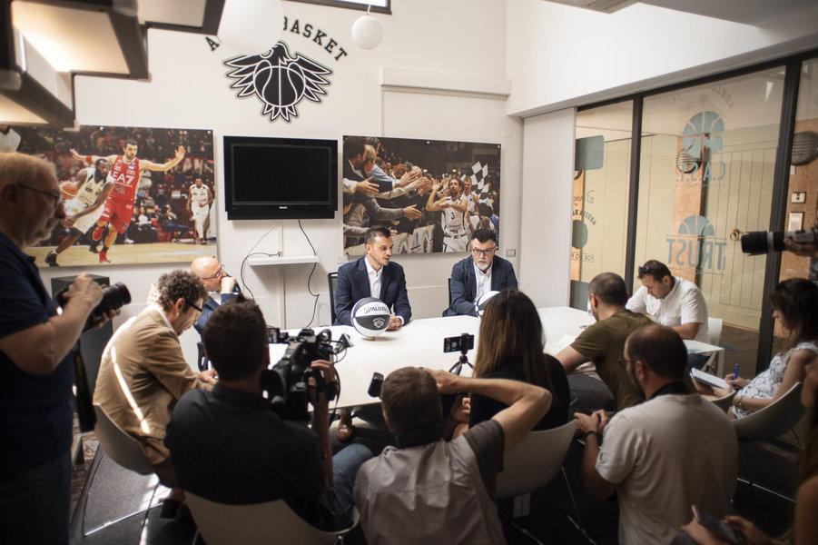 Lega A PosteMobile Mercato 2019-20: a Trento inizia l'era di Nicola Brienza come Head Coach