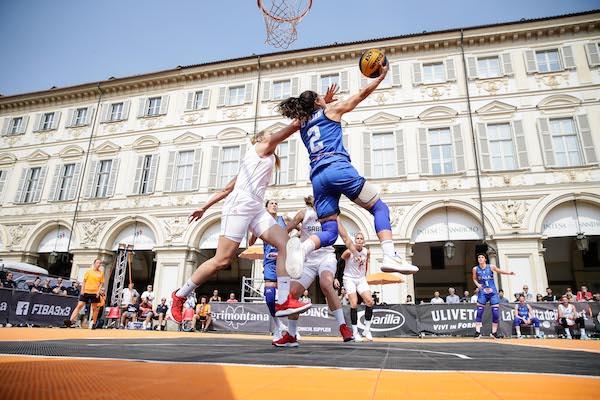 FIBA3x3 Women's Series a Torino 2019: l'Italia è seconda dietro la Francia ed è pronta per la World Cup