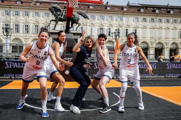 Italbasket 2019: la capitana Marcella Filippi racconta la Nazionale 3x3 alla vigilia della World Cup 2019