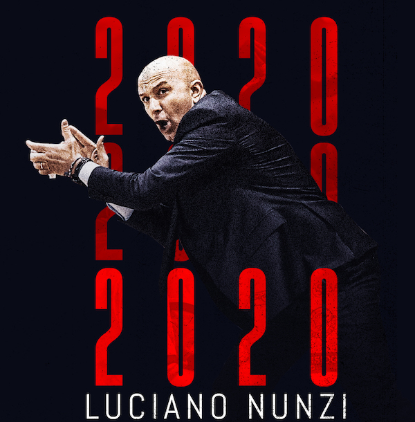A2 Ovest Old Wild West mercato 2019-20: l'Eurobasket conferma coach Luciano Nunzi