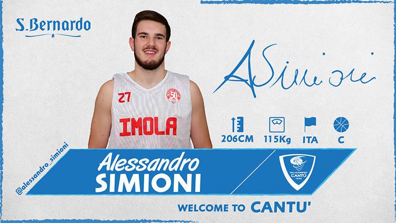 Lega A PosteMobile Mercato 2019-20: continua Cantù la ricostruzione del roster ecco Alessandro Simioni