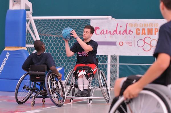 Basket in carrozzina 2019: il grande successo del Candido Junior Camp OSO in Campania