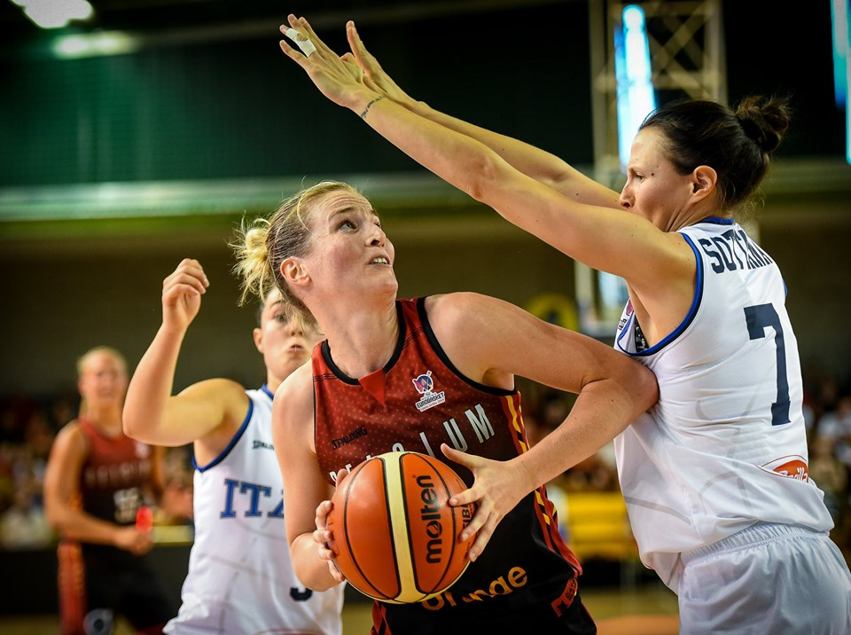 Italbasket 2019: sconfitta l'Italbasket Rosa nel primo test vs il Belgio in vista dei FIBA EuroBasket Women