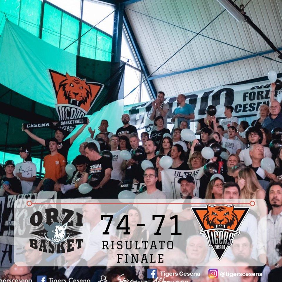 Serie B Old Wild West #Gara5 Finale Tabellone B 2018-19: s'infrange sul ferro tirando da tre il sogno dell'Amadori Tigers Cesena, vince Orzinuovi che va a Montecatini