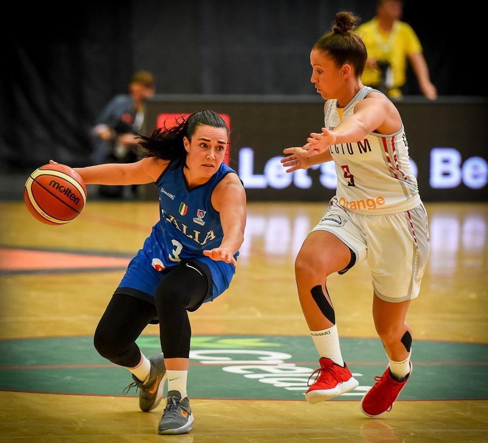 Italbasket 2019: la Nazionale femminile in campo a Cagliari con la Rep.Ceca per le Qualificazioni agli Europei 2021