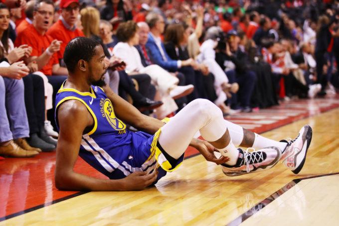 NBA Playoff 2018-19: Kevin Durant ovvero la caduta del gigante e l'apocalisse.
