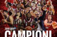 Lega A PosteMobile #Gara7 Finale scudetto 2019: la Reyer Venezia è sul tetto d'Italia schiantando Sassari 87-61 in #Gara7