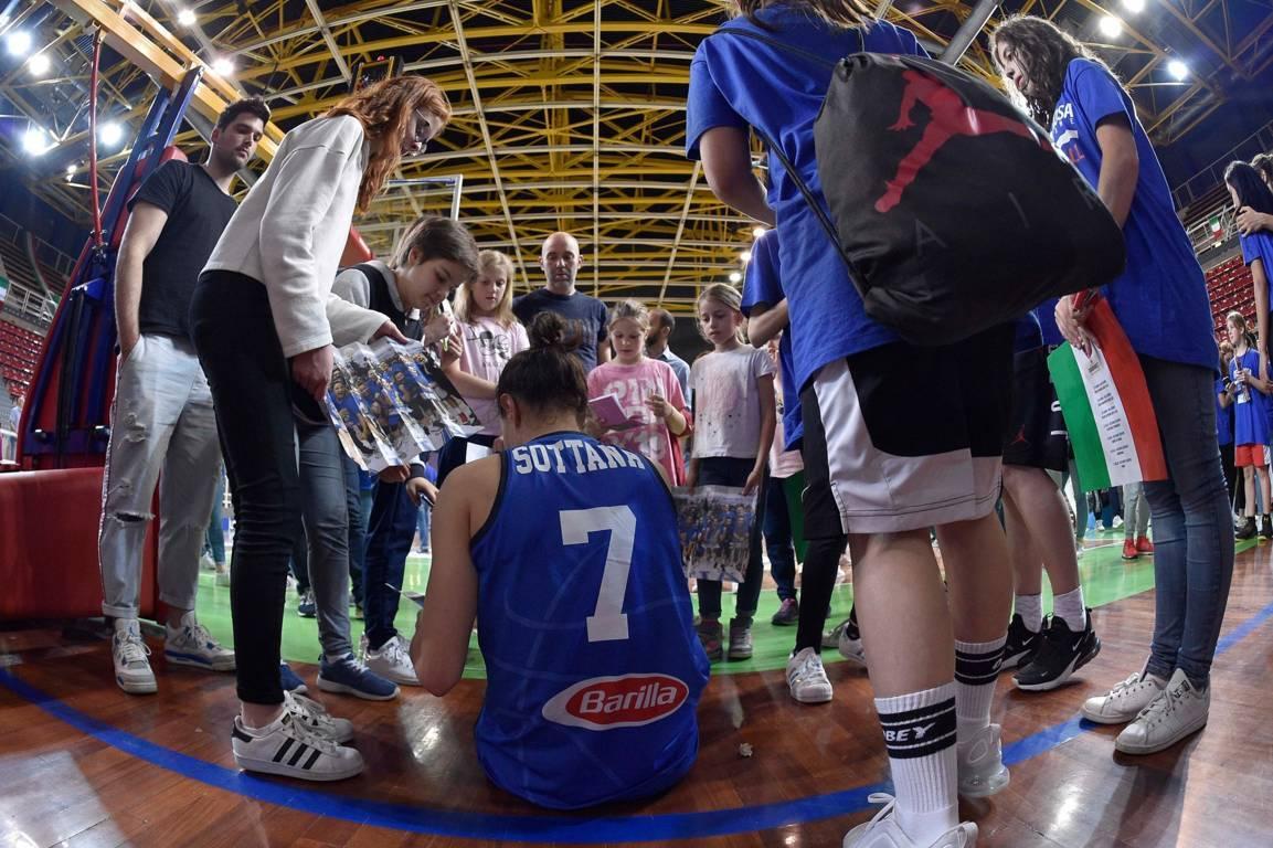 Italbasket 2019: terzo impegno pre-FIBA EuroBasket Women 2019 per l'Italbasket Rosa a Broni vs la Bielorussia
