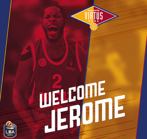 Legabasket LBA Mercato 2019-20: gran colpo della Virtus Roma che riporta in Italia Jerome Dyson