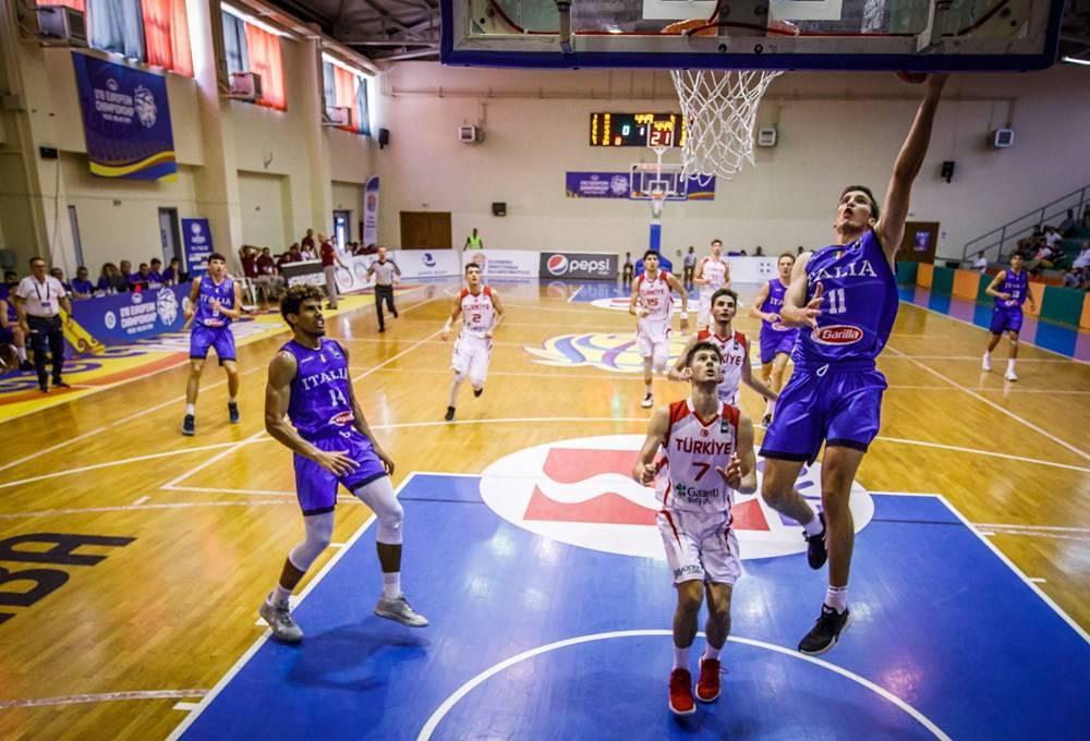 FIBA Eurobasket Men's U18 2019: ancora la Turchia a sbarrare la strada all'Italbasket questa volta U18M