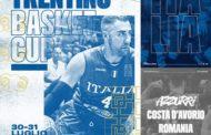 FIBA World Cup 2019: primo impegno amichevole ufficiale per l'Italbasket alla Trentino Cup vs la Romania