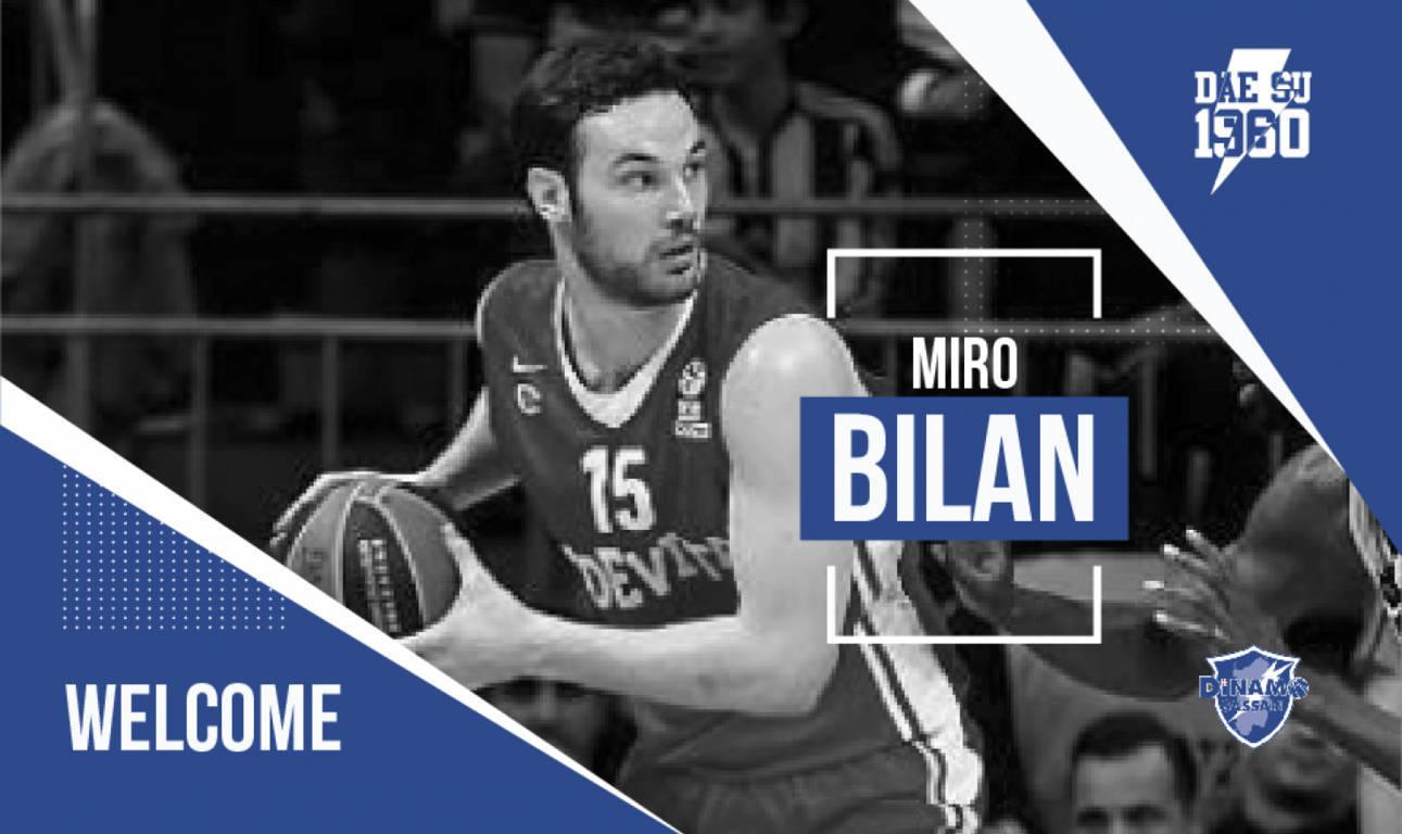 Legabasket - LBA Mercato 2019-20: un centro di livello per la Dinamo Sassari ecco il croato Miro Bilan