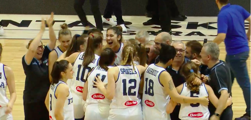 FIBA Women's Eurobasket U18 2019: Italbasket U18F rosa meravigliosamente Campione d'Europa