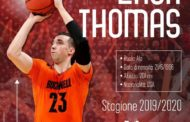 Legabasket LBA Mercato 2019-20: ancora Pesaro protagonista sul mercato arriva l'ala Zach Thomas