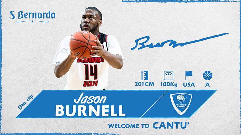Legabasket LBA Mercato 2019-20: un'altra ala americana per Cantù ecco il rookie Jason Burnell