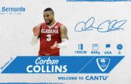Legabasket LBA Mercato 2019-20: la guardia americana Corban Collins è un giocatore dell'Acqua S.Bernardo Pallacanestro Cantù