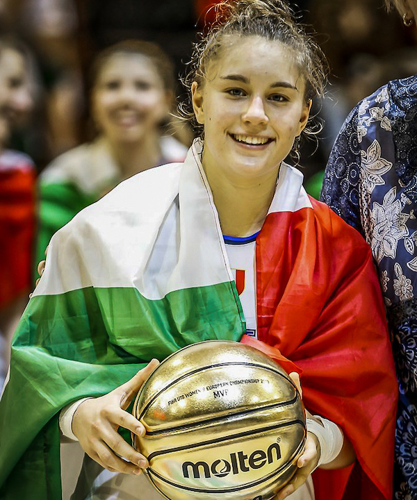Storie di basket 2019: ritratto di una Campionessa d'Europa, MVP del Torneo, Ilaria Panzera