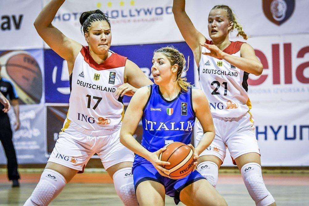 FIBA U18 Women's Eurobasket 2019: ancora vincente l'Italbasket Rosa U18F vs la Germania con un +22 che non ammette repliche