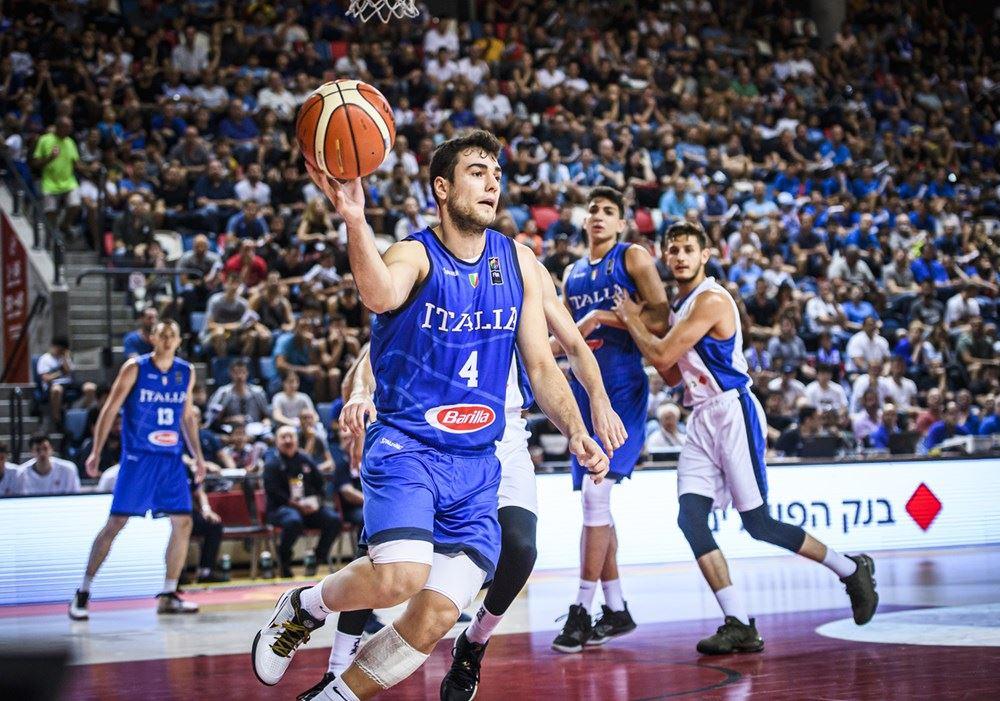 FIBA U20 Eurobasket Men's 2019: sconfitta vs Israele per l'Italbasket U20 agli Europei di Tel Aviv ma non tutto è perso