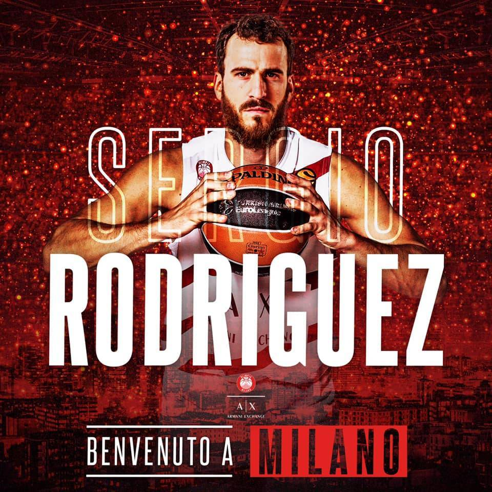Legabasket LBA Mercato 2019-20: arriba El Chacho Rodriguez all'Olimpia Milano!!