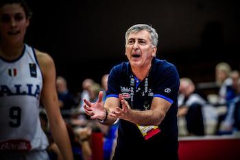 Interviste 2019: Sandro Orlando coach dell'Italbasket U20F