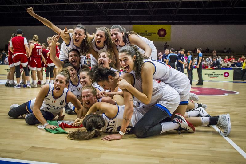 FIBA Campionato Europeo U20 Femminile 2019: capolavoro Italbasket U20F Campione d'Europa!!!