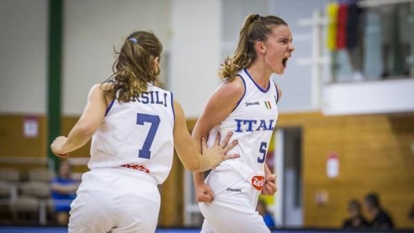 FIBA Women's U20 Eurobasket 2019: la faccia giusta dell'Italbasket travolge la Germania
