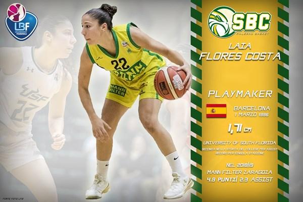 Lega Basket Femminile A1 Mercato 2019-20:un playmaker spagnolo per Palermo
