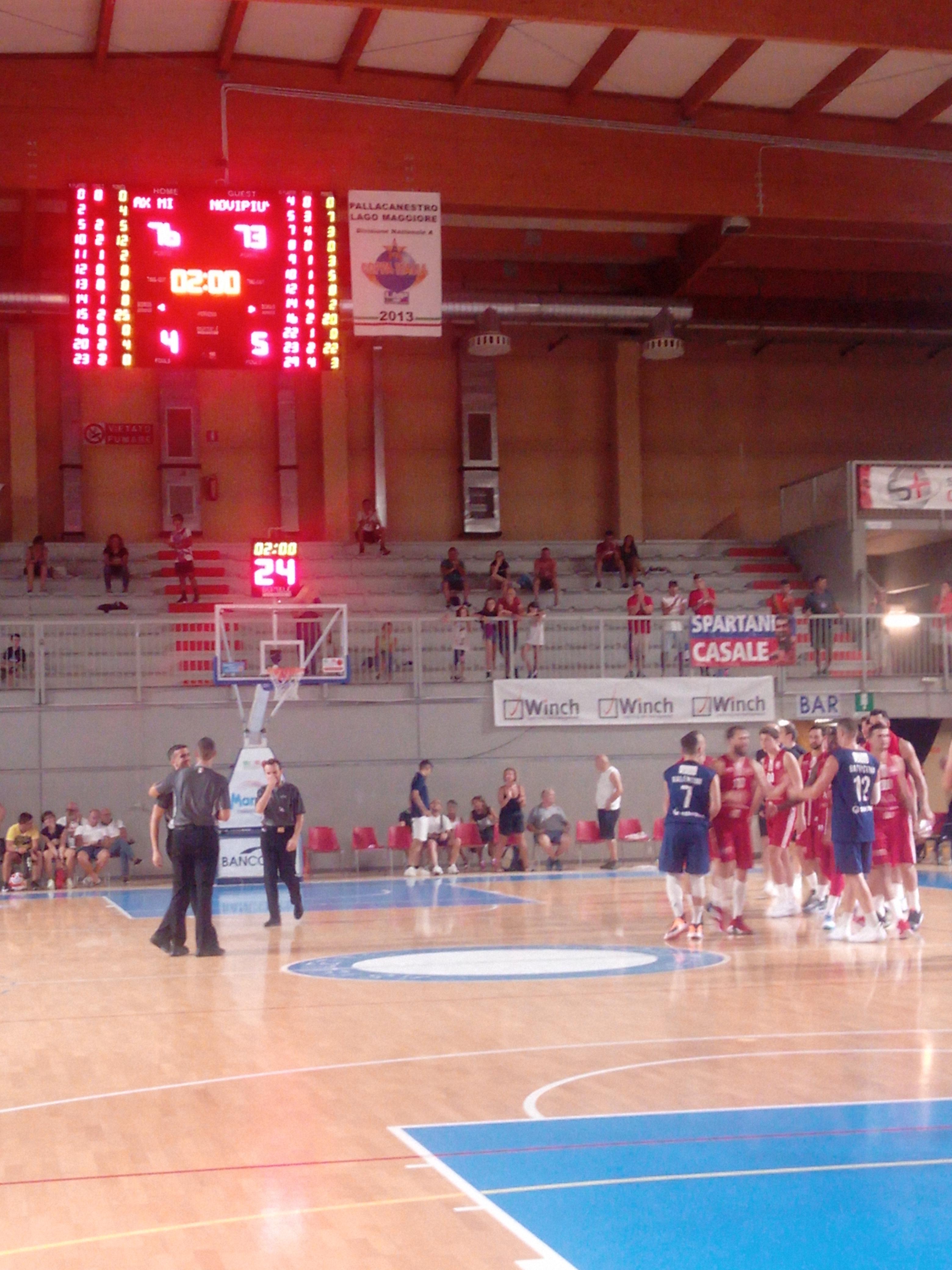 Legabasket LBA precampionato 2019-20: prima uscita e prima vittoria per la nuova Olimpia contro un'ottima Casale Monferrato