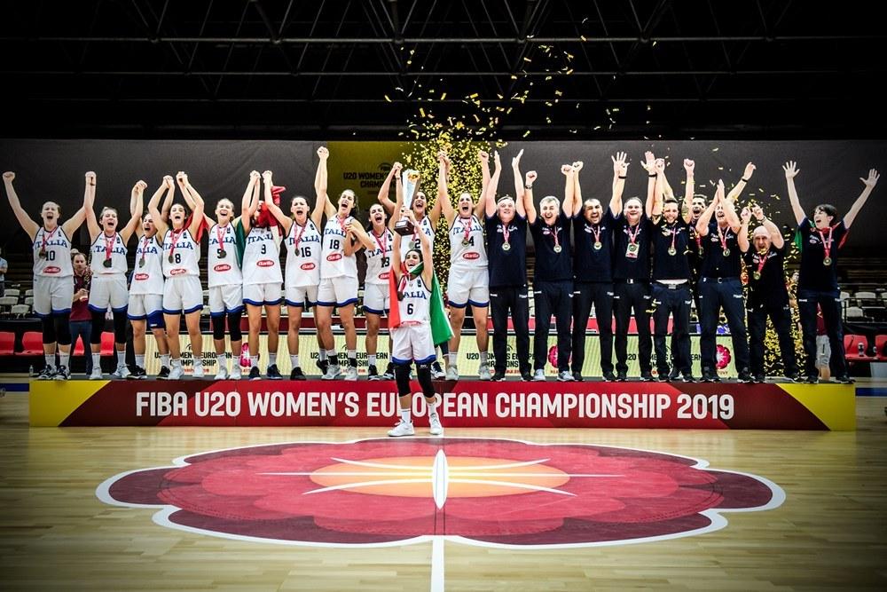 Italbasket 2019: abbiamo le ragazze U20F ed U18F più forti d'Europa ma qualcuno lo sa in Italia?