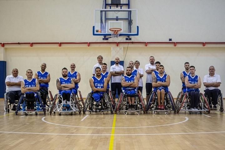 Basket in carrozzina IWBF Europe Championship 2019: mancano solo 48 ore al debutto dell'ItalFipic ai Campionati Europei