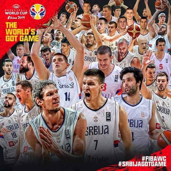 FIBA World Cup 2019: è al 1° posto nel ranking FIBA da pochi giorni, ecco a voi la Serbia!