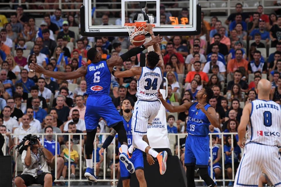 Road to FIBA World Cup 2019: all'Acropolis l'Italbasket passeggia in campo la Grecia no ed è +20 per gli ellenici