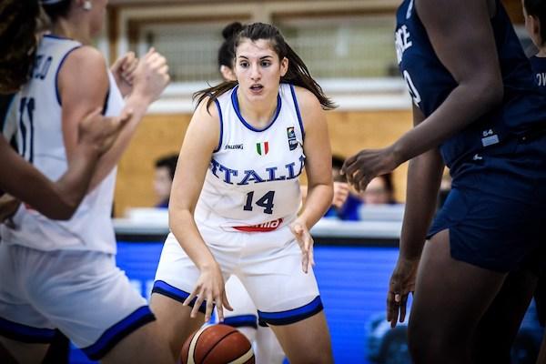 FIBA Women's U20 Eurobasket 2019: male l'Italbasket con la Francia