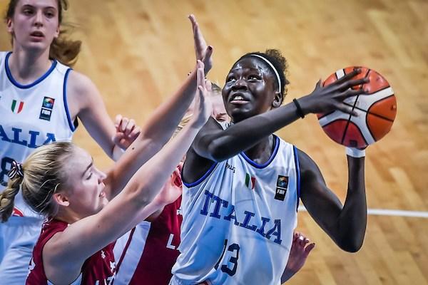 FIBA Campionato Europeo U16 Femminile 2019: l'Italbasket supera la Lettonia e si giocherà il V°posto con il Belgio