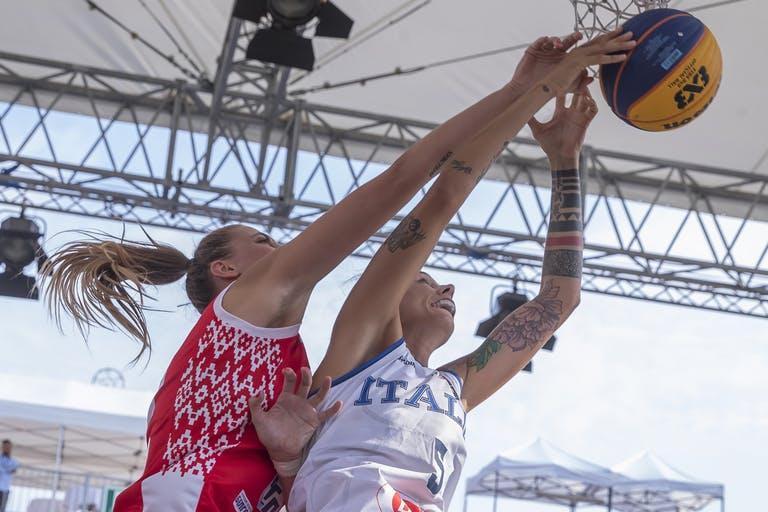 FIBA 3×3 Women's Open Europe Cup 2019: si ferma al girone di qualificazione la rincorsa dell'Italbasket Rosa 3x3 ad una medaglia