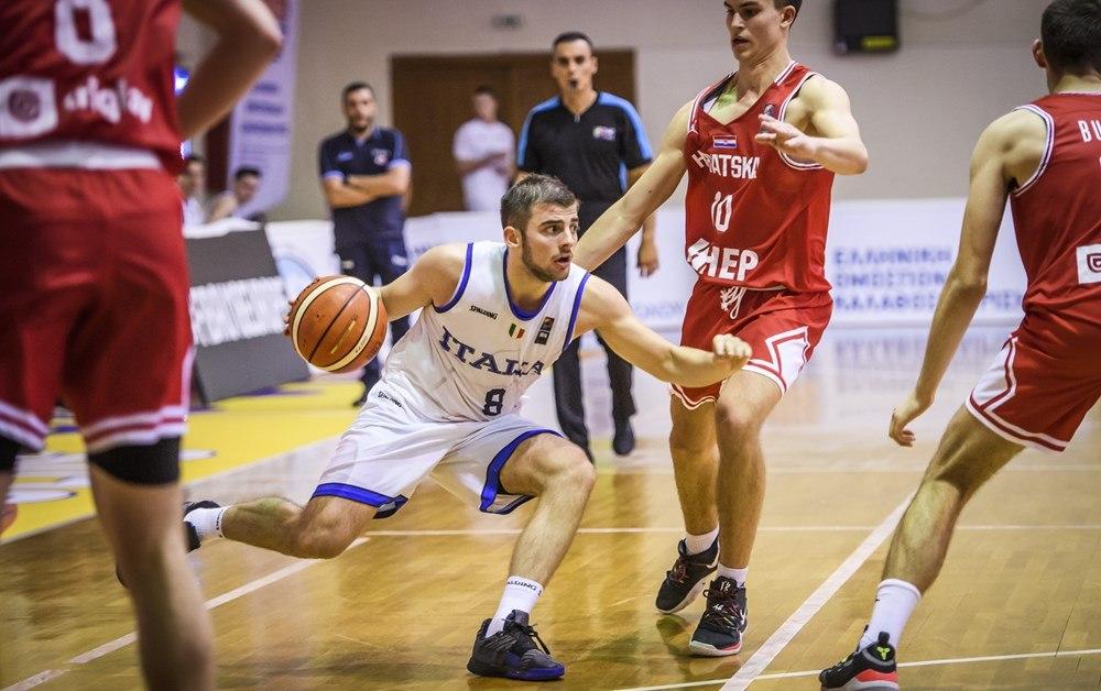 FIBA EuroBasket Men's U18 2019: ottima Italbasket U18M che batte la Croazia la retrocessione in Division B può attendere!