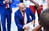 Legabasket LBA 2^ giornata 2019-20:  l'anticipo del sabato sera è tra la Grissin Bon Reggio Emilia e la Trento di Alessandro Gentile
