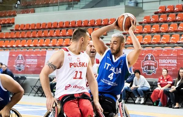 Basket in carrozzina IWBF Europe Championship 2019: l'ItalFipic batte la Polonia e chiude al V°posto