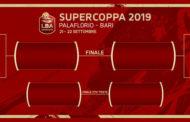 Supercoppa LBA Zurich Connect 2019: spettacolo a Bari da sabato 21 settembre si sfidano la Dinamo Sassari, la Vanoli Cremona, la Reyer Venezia e la Happy Casa Brindisi