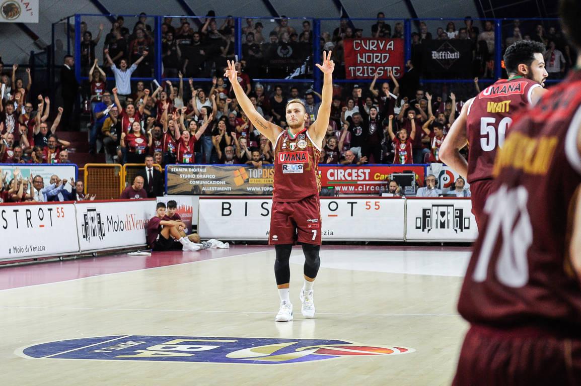 Legabasket LBA 1^giornata 2019-20: la solita Reyer Venezia che non ruba l'occhio ma alla fine batte Trieste