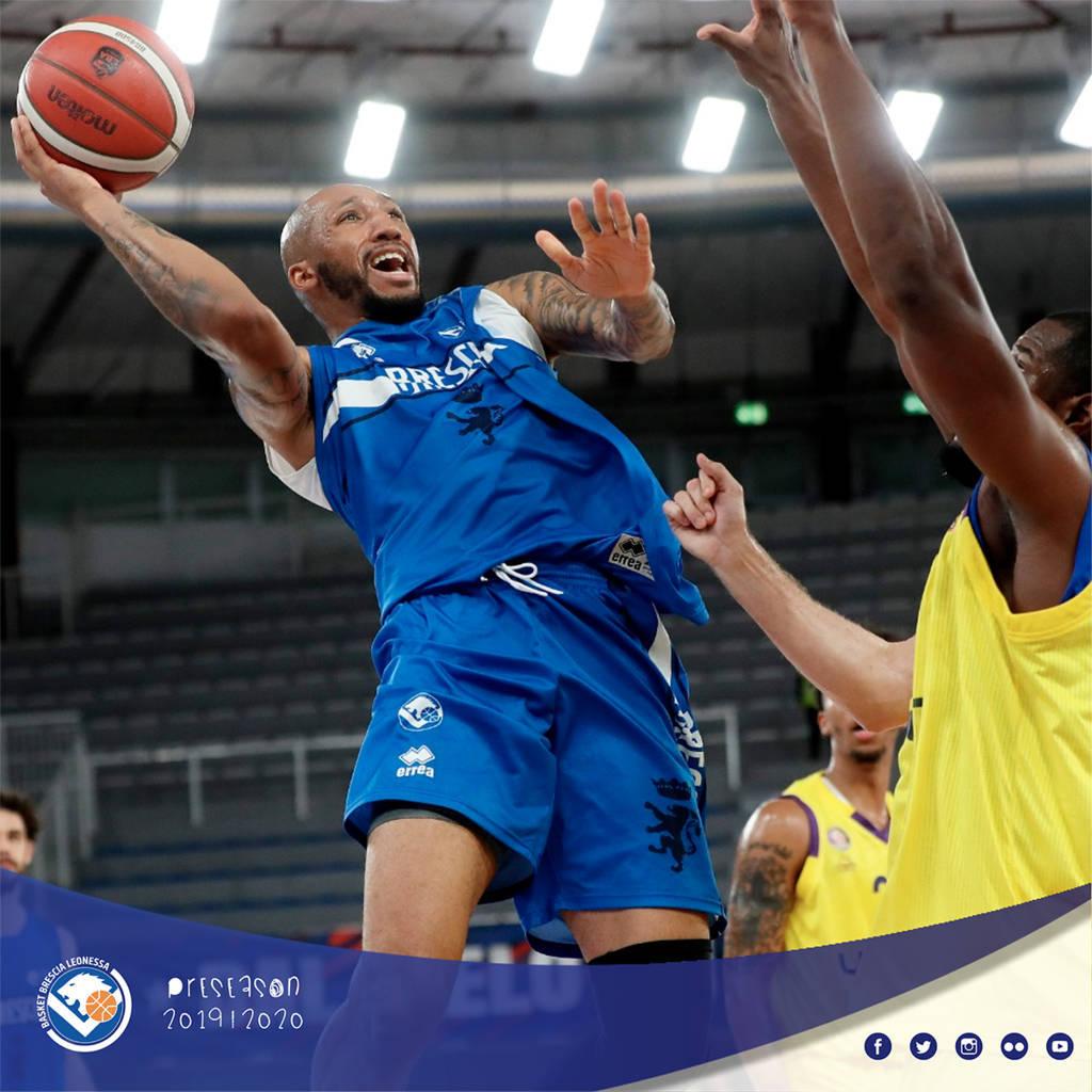 Legabasket LBA Precampionato 2019-20: ancora Brescia vincente nel