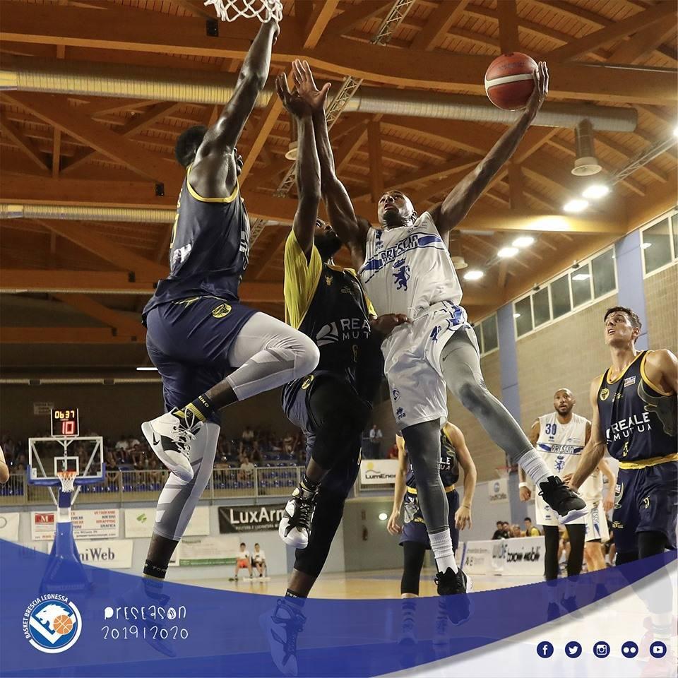 Legabasket LBA precampionato 2019-20: la Germani Basket Brescia cede alla Reale Mutua Torino nel 3° Memorial Patti