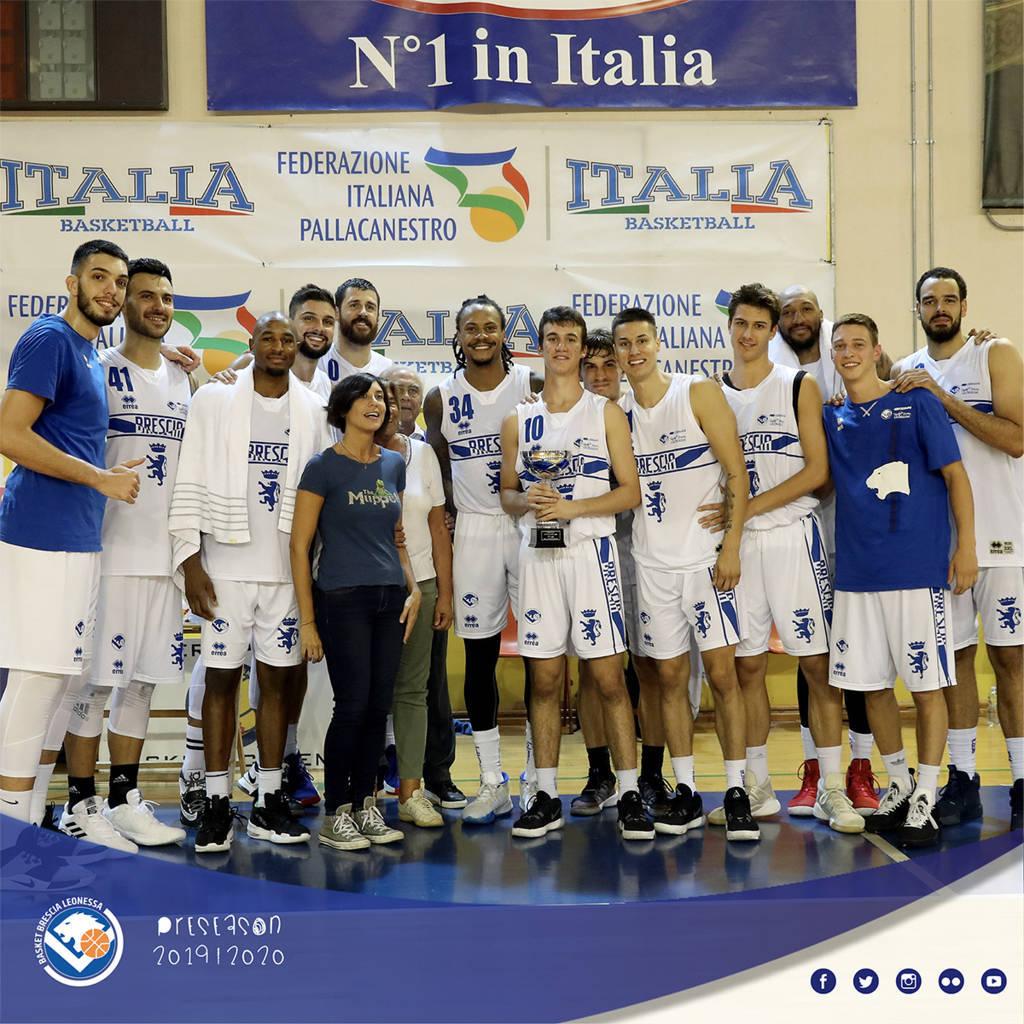 Legabasket LBA precampionato 2019-20: al Memorial Bertolazzi di Parma ancora bene Brescia che batte la Virtus Bologna, 3° posto per Cantù che batte Varese