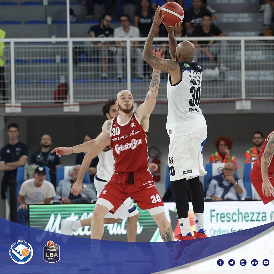 Legabasket LBA 1^giornata 2019-20: la prima è della Germani Basket Brescia che supera la Grissin Bon Reggio Emilia