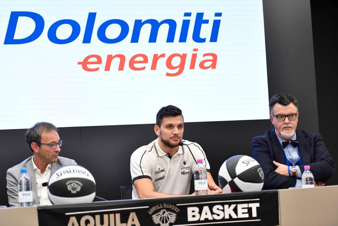 Legabasket LBA Mercato 2019-20: è arrivato Alessandro Gentile a Trento, parla il presidente Luigi Longhi