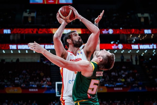 FIBA World Cup China 2019: la prima semifinale la vince la Spagna sull'Australia ma dopo due tempi supplementari