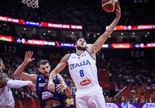 FIBA World Cup Cina 2019: l'Italia gioca bene con la Serbia ma perde lo stesso